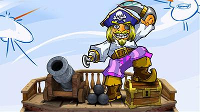 Игровые автоматы пираты  играть бесплатно в Sharky